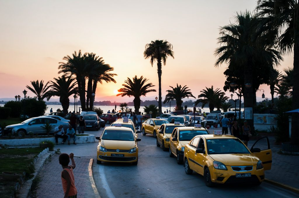 Taxi-1024x681 10 Reasons Why Tourists Should Visit Tunisia This Summer